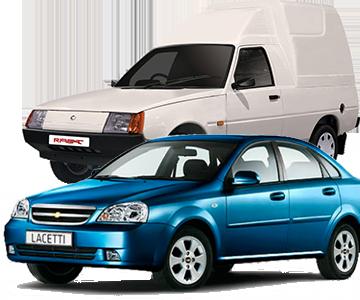 Daewoo, Chevrolet, ЗАЗ