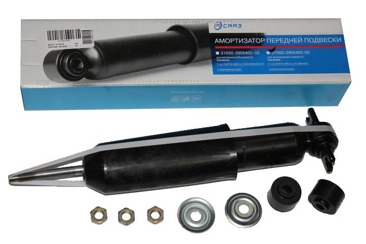 Амортизатор подвески  2410  передний  газовый  (пр-во СААЗ)