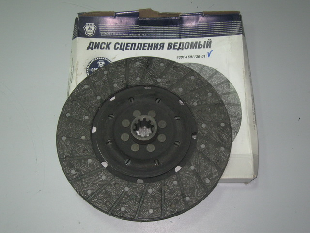 Диск сцепления  ГАЗ-33104  (двиг.ММЗ Д-245.7)  (пр-во ГАЗ)